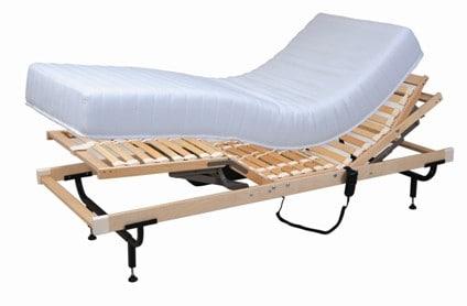 מנגנון למיטה מתכווננת